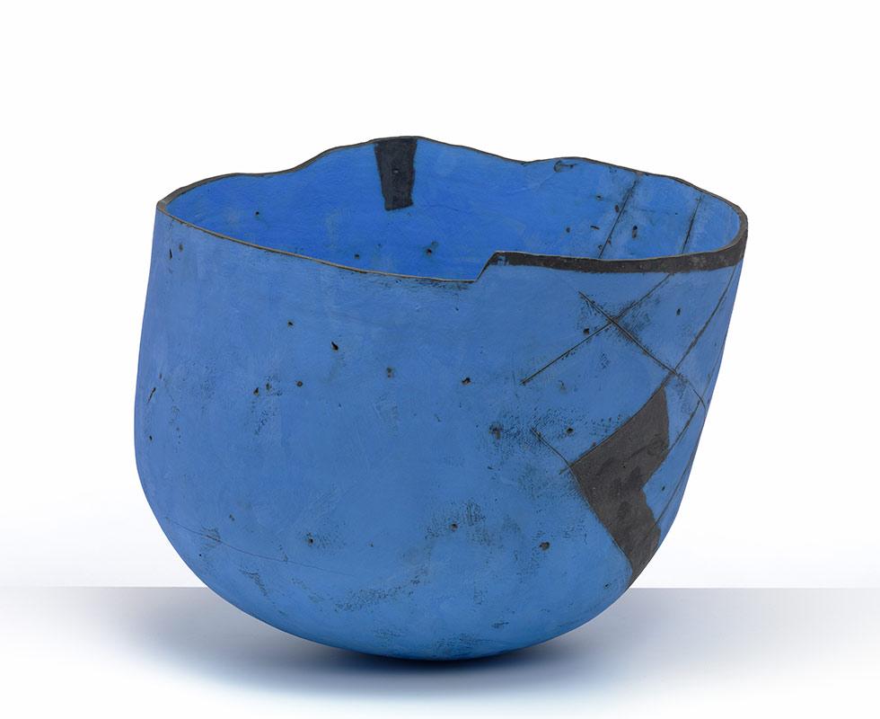 Pieza de cerámica de Gordon Baldwin