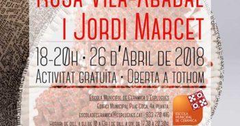 Conferencia de Rosa Vila-Abadal y Jordi Marcet