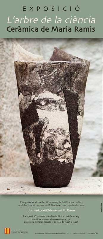 Exposición de cerámica de Maria Ramis