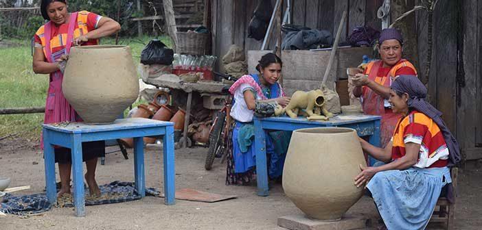 Alfarería y hornos de leña enMéxico