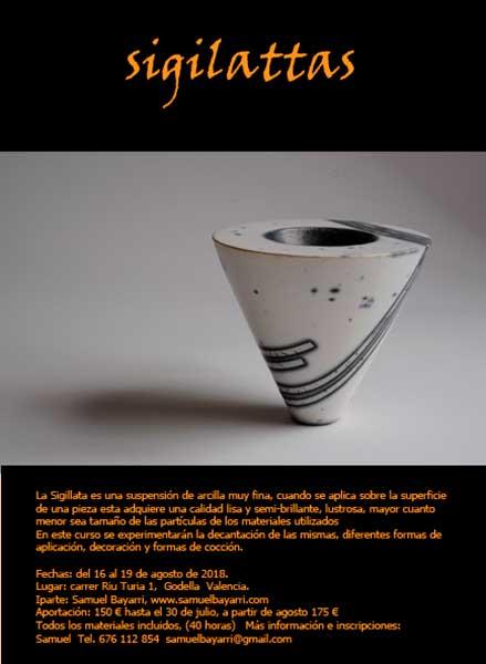 Cursos de cerámica de Samuel Bayarri