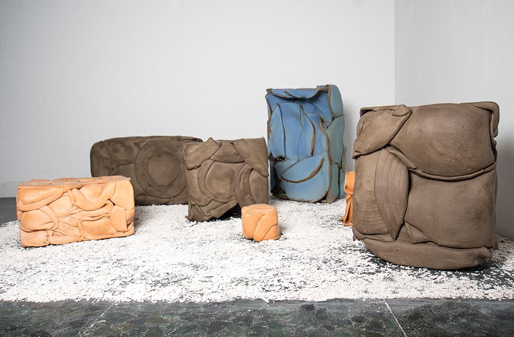 Escultura cerámica de Alejandro Espejel