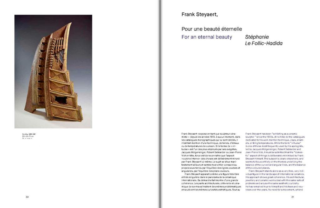 Libro sobre Frank Steyaert