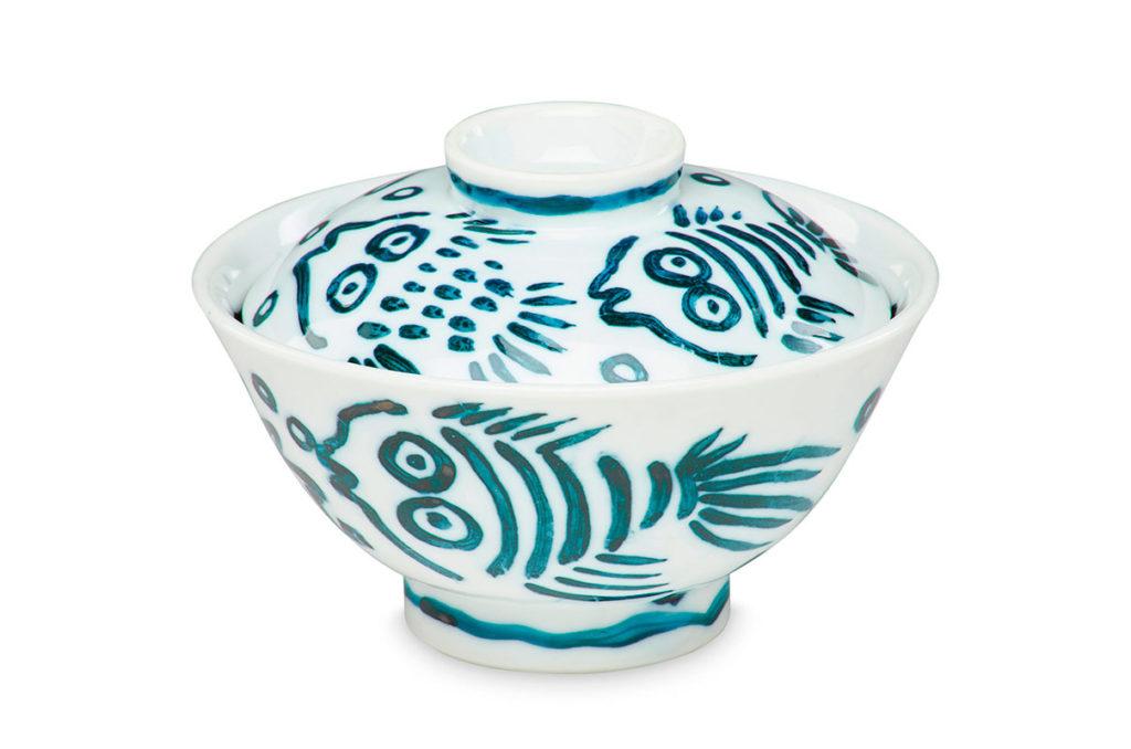 Pieza de cerámica de Keith Haring