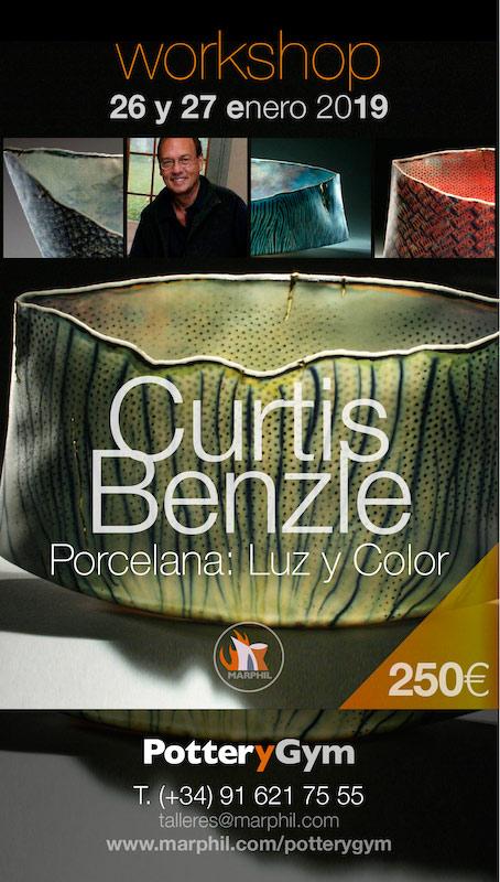 Cerámica de Curtis Benzle