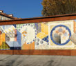 Mural de cerámica de Talavera de la Reina