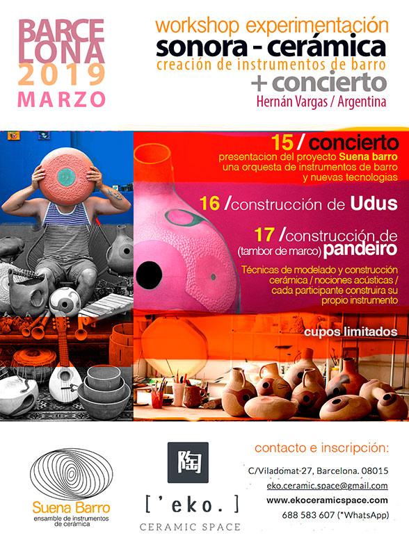 Musica con cerámica de Hernan Vargas