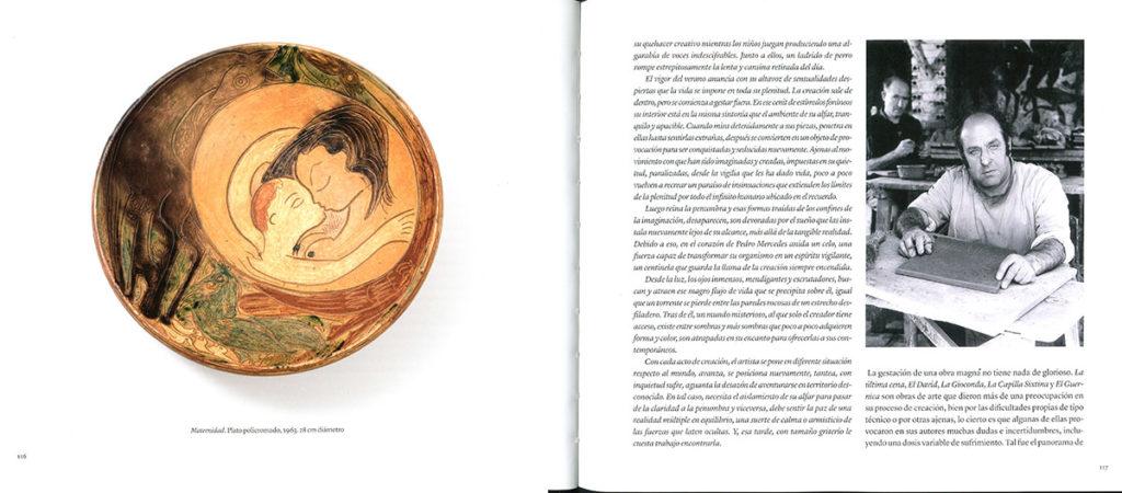 Páginas interiores del libro Pedro Mercedes y Cuenca