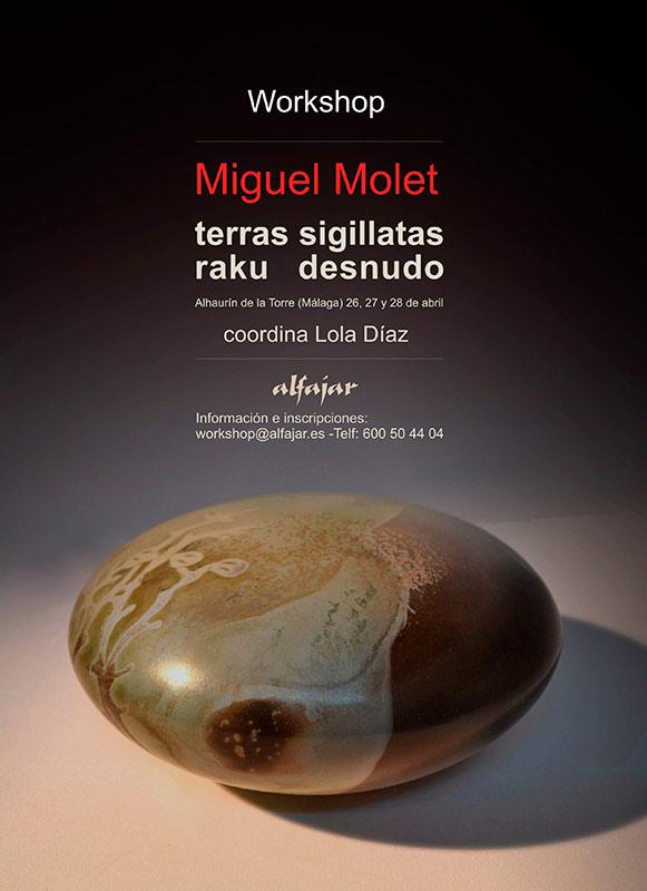 Curso de cerámica de Miguel Molet