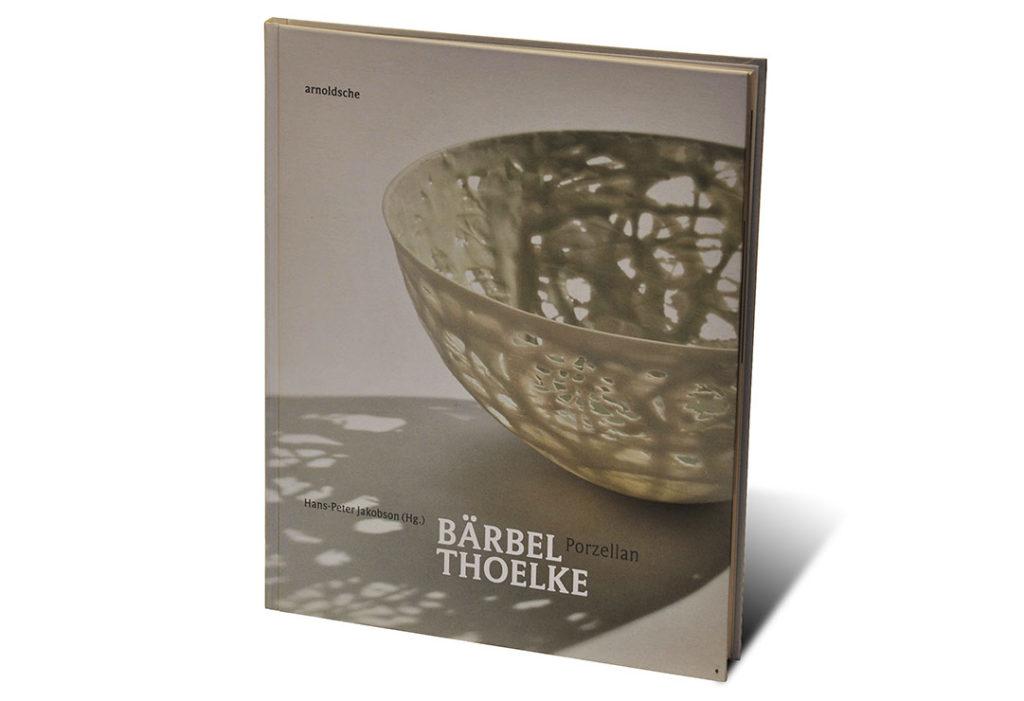 Portada del libro sobre el ceramista aleman Bärbel Thoelke