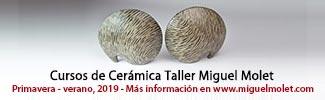Cursos de cerámica - Taller de Miguel Molet