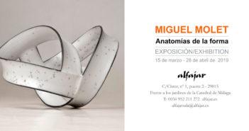 Exposición de cerámica de Miguel Molet