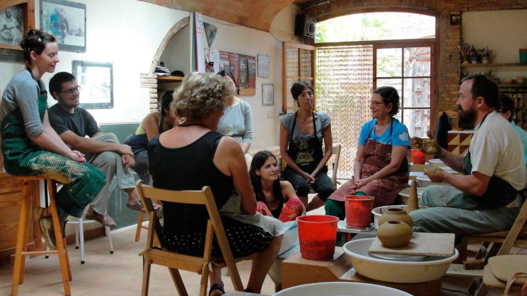 Cursos de cerámica con Ramón Fort