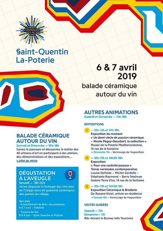 Journée Européennes des Métiers d'Art en Saint-Quentin-la-Poterie (Francia)