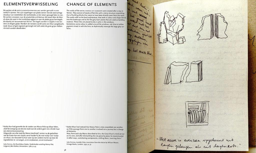Páginas interiores del libro sobre Trudy Kunkeler