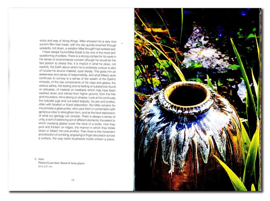 Páginas interiores del libro dedicado a Mike Dodd