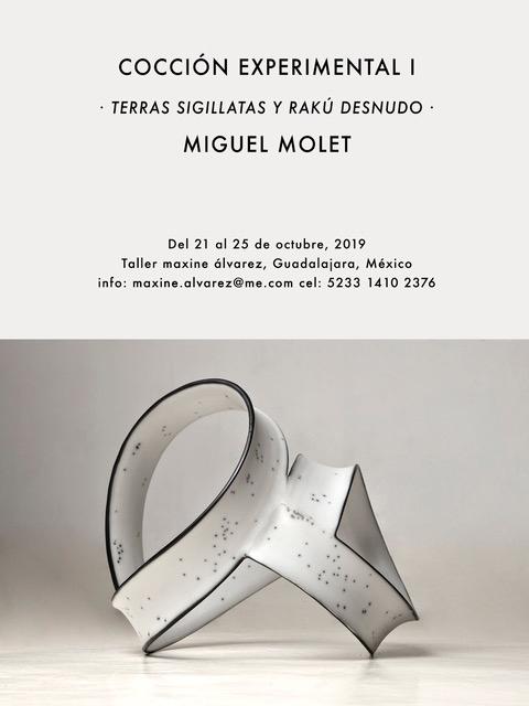 Curso de cerámica con Miguel Molet