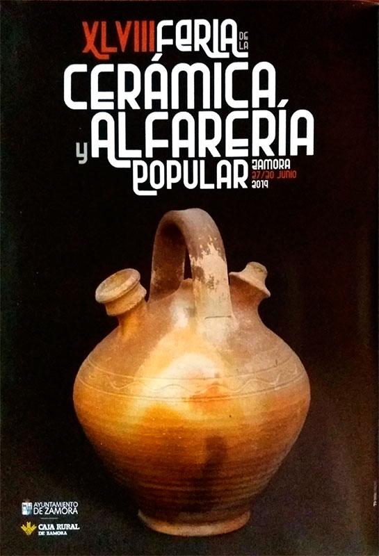 Cartel de la Feria de Cerámica de Zamora
