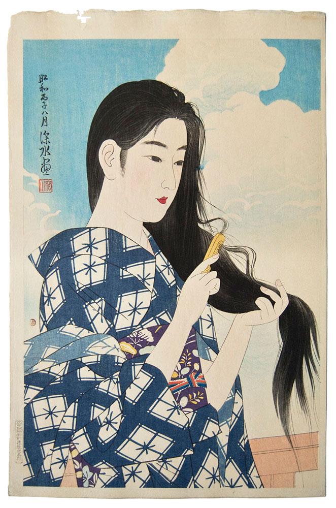 Grabado de Ito Shinsui