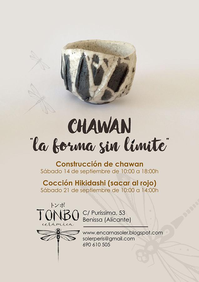 Curso de chawan con Encarna Soler