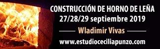 Curso de construcción de horno de leña - Granada