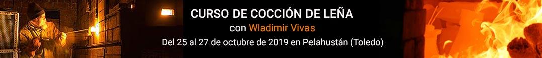 Cursos de cerámica - Cocción horno de leña 2019