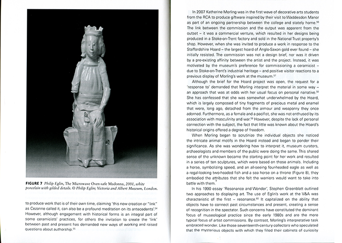 Páginas interiores del libro Ceramics and the Museum