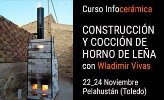 Curso de construcción y cocción de horno de leña - Cerámica