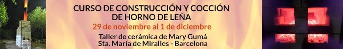 Curso Construcción y cocción de horno de leña - Barcelona