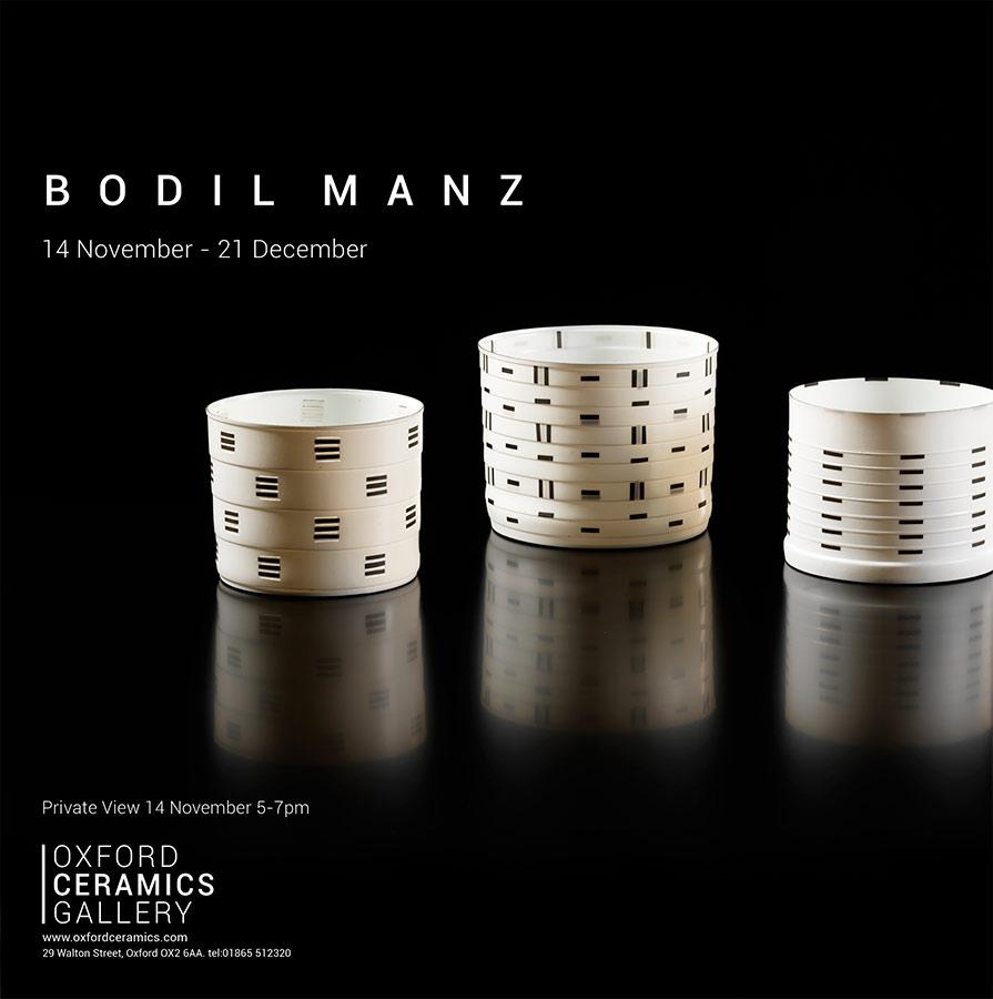 Cerámica de Bodil Manz
