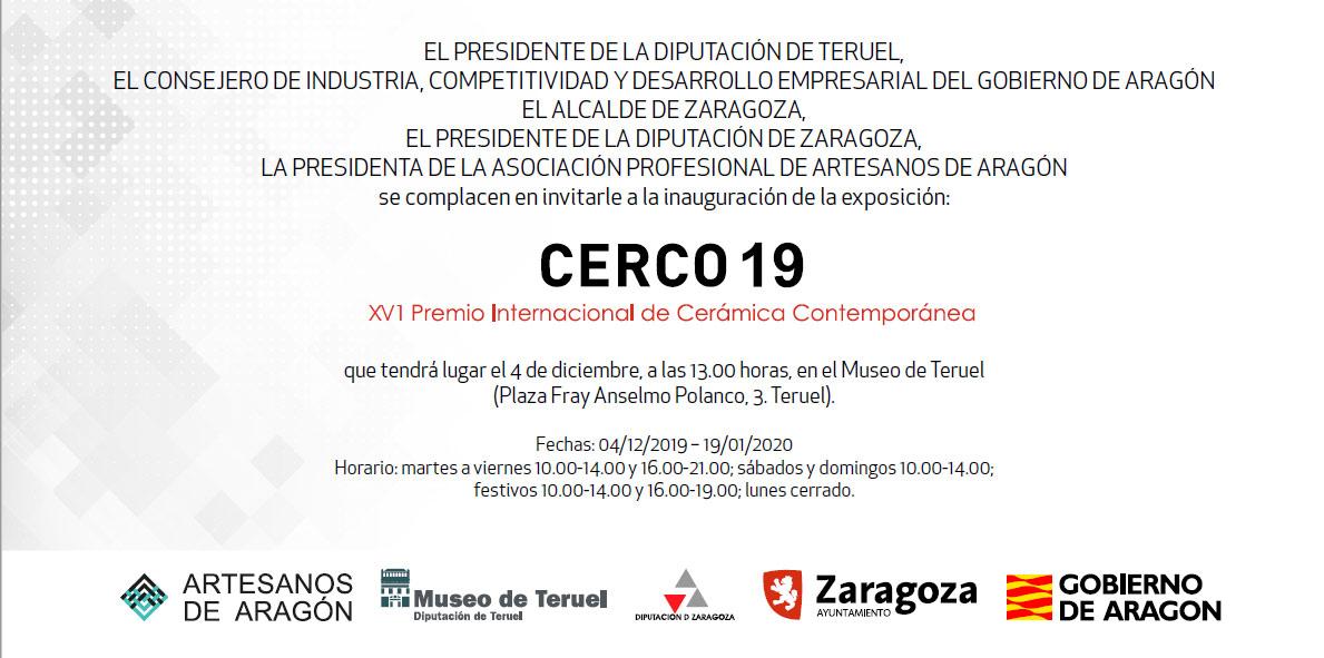 Exposición de cerámica CERCO 2019