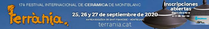 Terrania - Festival Internacional de Cerámica de Montblanc