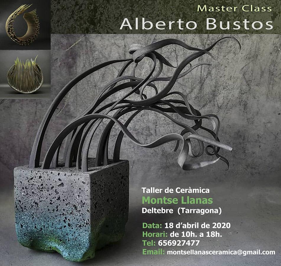 Curso de cerámica con Alberto Bustos