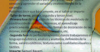 Curso de cerámica con Samuel Bayarri