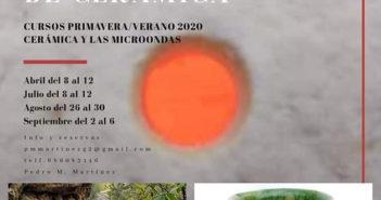 Curso de cerámica con Pedro Martínez
