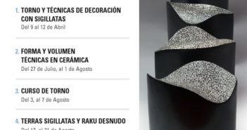 Cursos de cerámica con Miguel Molet