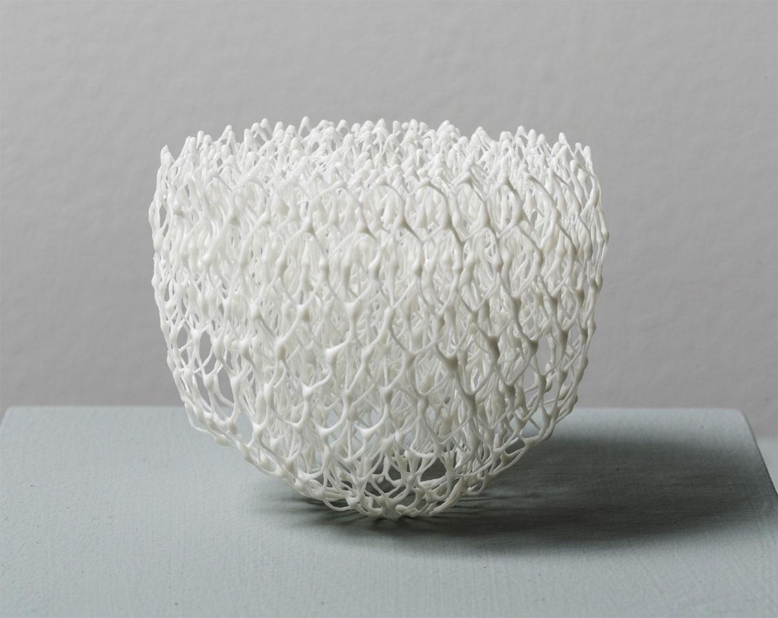 Pieza de cerámica de Naoki Kato