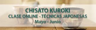 Chisato Kuroki - clases online - técnicas japonesas