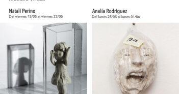 exposición de cerámica de Natalí Perino
