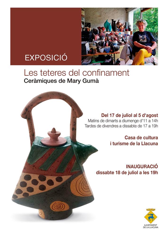 Exposición de cerámica de Mari Guma