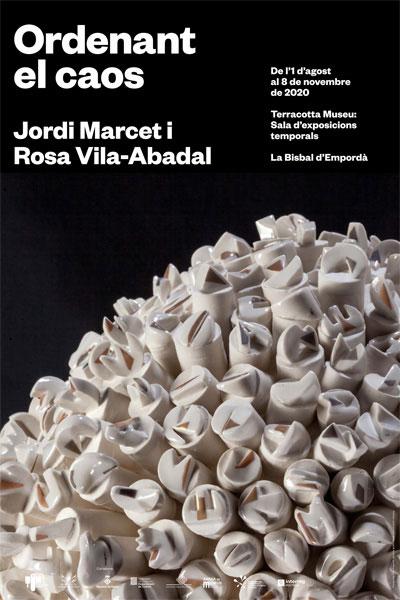 Cartel de la exposición de Rosa Vila Abadal y Jordi Marcet