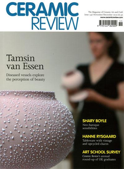 Ceramic Review, 246, November/December 2010