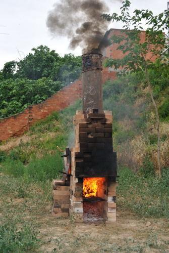 Domadores de Fuego 20101, horno de Joan Mundet y Mercé Trabal