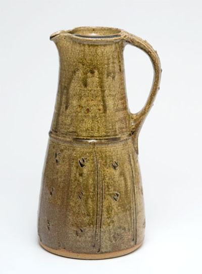 Jarra de cerámica de Jim Malone