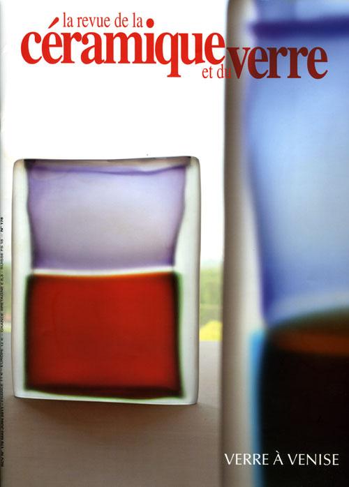 Portada de la revista La revue de la Ceramique et du verre