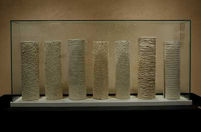 Pieza de cerámica de M.ª Jesús Mellado