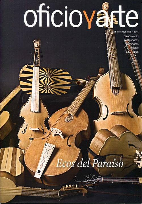 portada de revista Oficio y Arte
