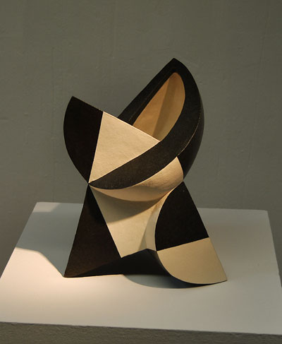pieza de cerámica contemporánea de Toshihiko Okuno