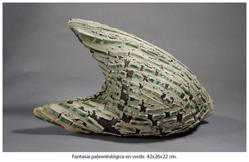 Fantasía paleontológica en verde