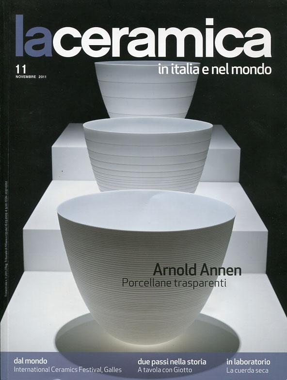 """Portada de la revista """"La ceramica in Italia e nel mondo"""""""